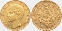 10 Mark 1888 D Bayern König Otto von Bayern ss-vz  629,00 EUR  zzgl. 6,95 EUR Versand