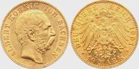 10 Mark 1901 E Sachsen König Albert von Sachsen vz  598,00 EUR  zzgl. 6,95 EUR Versand