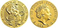 25 Pound 2016 Großbritannien The Queen`s Beasts - Lion of England st  498,00 EUR  zzgl. 6,95 EUR Versand
