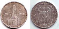 5 Mark 1934 G Drittes Reich Garnisonskirche mit Datum ss  12,95 EUR  zzgl. 4,95 EUR Versand
