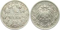 1/2 Mark 1905 F Kaiserreich 1/2 Mark ss  2,95 EUR  zzgl. 2,95 EUR Versand