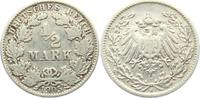 1/2 Mark 1905 J Kaiserreich 1/2 Mark ss  2,95 EUR  zzgl. 2,95 EUR Versand