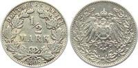 1/2 Mark 1908 E Kaiserreich 1/2 Mark ss  7,95 EUR  zzgl. 2,95 EUR Versand
