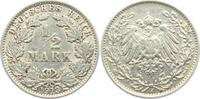 1/2 Mark 1913 J Kaiserreich 1/2 Mark ss  2,95 EUR  zzgl. 2,95 EUR Versand