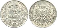 1/2 Mark 1915 G Kaiserreich 1/2 Mark f.vz  2,95 EUR  zzgl. 2,95 EUR Versand