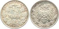 1/2 Mark 1915 G Kaiserreich 1/2 Mark vz  3,95 EUR  zzgl. 2,95 EUR Versand