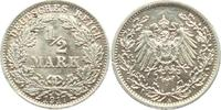 1/2 Mark 1917 A Kaiserreich 1/2 Mark vz  2,95 EUR  zzgl. 2,95 EUR Versand