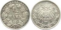 1/2 Mark 1917 A Kaiserreich 1/2 Mark f.st  4,95 EUR  zzgl. 2,95 EUR Versand