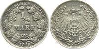 1/2 Mark 1919 F Kaiserreich 1/2 Mark vz  7,95 EUR  zzgl. 2,95 EUR Versand