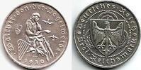 3 Reichsmark 1930 D Weimarer Republik Walther von der Vogelweide vz/st  89,00 EUR  zzgl. 6,95 EUR Versand