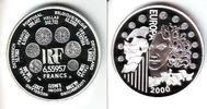 6,55957 Francs 2000 Frankreich Europäische Währungsunion PP  19,95 EUR  zzgl. 4,95 EUR Versand