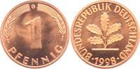 1 Pfennig 1998 G BRD  st  1,95 EUR  zzgl. 2,95 EUR Versand