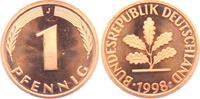 1 Pfennig 1998 J BRD  st  1,95 EUR  zzgl. 2,95 EUR Versand