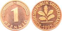 1 Pfennig 1997 A BRD  st  1,95 EUR  zzgl. 2,95 EUR Versand