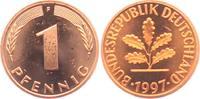 1 Pfennig 1997 F BRD  st  1,95 EUR  zzgl. 2,95 EUR Versand