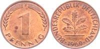 1 Pfennig 1969 F BRD  ss  1,95 EUR  zzgl. 2,95 EUR Versand