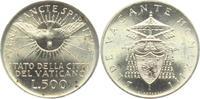 500 Lire 1963 Vatikan Sedevakanz vz/st/fl.  9,95 EUR  zzgl. 2,95 EUR Versand