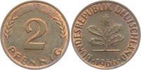 2 Pfennig 1966 F BRD 2 Pfennig bankfrisch  7,00 EUR  zzgl. 2,95 EUR Versand