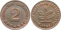 2 Pfennig 1965 G BRD 2 Pfennig bankfrisch  9,95 EUR  zzgl. 2,95 EUR Versand