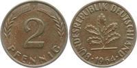 2 Pfennig 1964 F BRD 2 Pfennig bankfrisch  2,95 EUR  zzgl. 2,95 EUR Versand