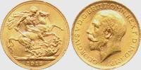 1 Sovereign 1913 Großbritannien Georg V. bankfrisch  308,00 EUR  zzgl. 6,95 EUR Versand