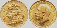 1 Sovereign 1914 Großbritannien Georg V. bankfrisch  308,00 EUR  zzgl. 6,95 EUR Versand