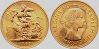 1 Sovereign 1963 Großbritannien Königin Elisabeth II. - mit Lorbeerkran... 398,00 EUR  zzgl. 6,95 EUR Versand