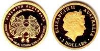 5 Dollar 2010 Australien 1/25 Unze Goldmünze - Kragenechse PP  79,90 EUR