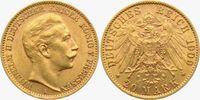 20 Mark 1909 A Preussen Kaiser Wilhelm II. vz  315,00 EUR  zzgl. 6,95 EUR Versand