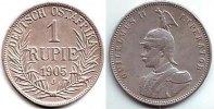 1 Rupie 1905 J Deutsch Ostafrika 1 Rupie - Brustbild Kaiser Wilhelm II.... 79,95 EUR  zzgl. 6,95 EUR Versand