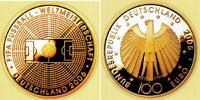 100 Euro 2005 F Deutschland 1/2 Unze Goldmünze - Fußball-WM 2006 st mit... 589,00 EUR