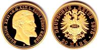 20 Mark 1875/NP 2007 Reuss ältere Linie 20 Mark Goldmünze/ Nachprägung ... 99,90 EUR  zzgl. 6,95 EUR Versand