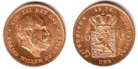 10 Gulden 1875 Niederlande König Willem III. f.st  249,00 EUR  zzgl. 6,95 EUR Versand