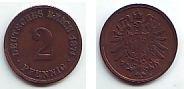 2 Pfennig 1874 H Kaiserreich 2 Pfennig - Kupfermünze vz  69,90 EUR  zzgl. 6,95 EUR Versand