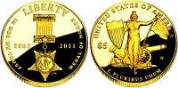 5 Dollar 2011 USA Goldmünze - Tapferkeitsmedaille PP Original-Box + Zer... 498,00 EUR  zzgl. 6,95 EUR Versand