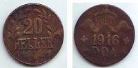 20 Heller 1916 T Deutsch Ostafrika Tabora Notprägung ss  79,90 EUR  zzgl. 6,95 EUR Versand