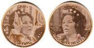 50 Euro 2005 Niederlande 25-jähriges Regierungsjubiläum PP  498,00 EUR