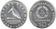10 Mark 1984 DDR Alfred Brehm - Marabu st  55,00 EUR