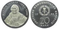 20 Mark 1983 DDR Martin Luther st  259,00 EUR  zzgl. 6,95 EUR Versand