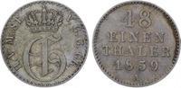 1/48 Taler 1859  A Mecklenburg-Strelitz Georg 1816-1860. Sehr schön-vor... 20,00 EUR  zzgl. 5,00 EUR Versand