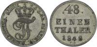 1/48 Taler 1848 Mecklenburg-Schwerin Friedrich Franz II. 1842-1883. Seh... 10,00 EUR  zzgl. 5,00 EUR Versand