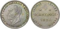 4 Schilling 1830 Mecklenburg-Schwerin Friedrich Franz I. 1785-1837. Hüb... 85,00 EUR  zzgl. 5,00 EUR Versand