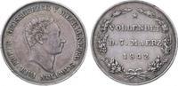 Gedenkmünze in 2 1/2 Talergröße 184 1842 Mecklenburg-Schwerin Paul Frie... 35,00 EUR  zzgl. 5,00 EUR Versand