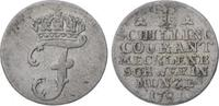 Schilling 1781 Mecklenburg-Schwerin Friedrich 1756-1785. Sehr schön  15,00 EUR  zzgl. 5,00 EUR Versand