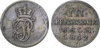 Dreiling 1842 Mecklenburg-Schwerin Paul Friedrich 1837-1842. Schrötling... 30,00 EUR  zzgl. 5,00 EUR Versand