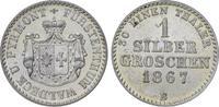 Silbergroschen 1867  B Waldeck Georg Victor 1852-1893. Vorzüglich-Stemp... 45,00 EUR  zzgl. 5,00 EUR Versand