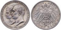 2 Mark 1904  A Mecklenburg-Schwerin Friedrich Franz IV. 1897-1918. Vorz... 90,00 EUR  plus 5,00 EUR verzending