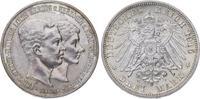 3 Mark 1915  A Braunschweig Ernst August 1913-1916. Zap., vorzüglich +  175,00 EUR  plus 5,00 EUR verzending
