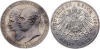 5 Mark 1904  A Mecklenburg-Schwerin Friedrich Franz IV. 1897-1918. Winz... 435,00 EUR  plus 7,50 EUR verzending