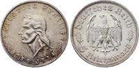 5 Reichsmark 1934  F Drittes Reich  Minimale Kratzer, fast Stempelglanz  265,00 EUR  plus 7,50 EUR verzending